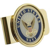United States Navy Money Clip