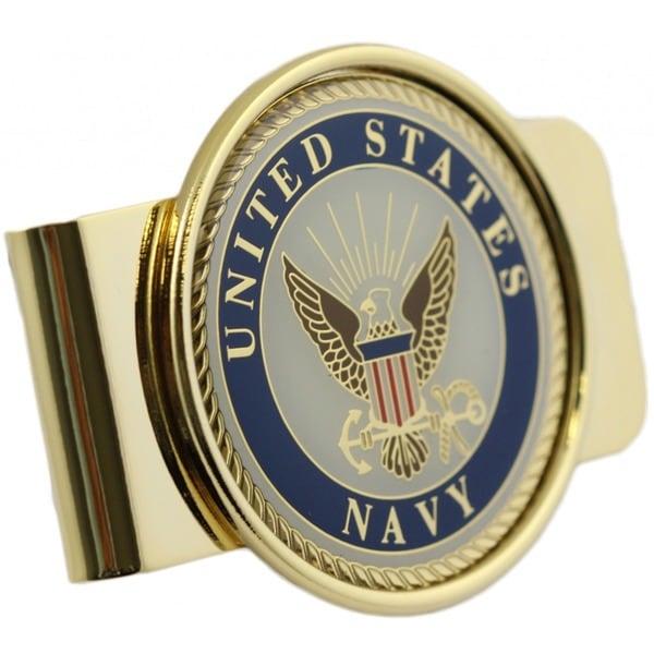 United States Navy Money Clip