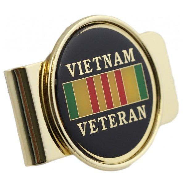 United States Vietnam Veteran Money Clip