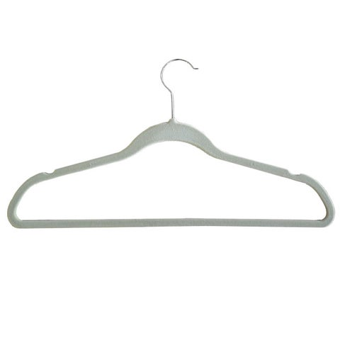 Velvet plastic Huggable Suit Hangers (Set of 50)