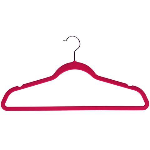 Velvet plastic Huggable Suit Hangers (Set of 50)