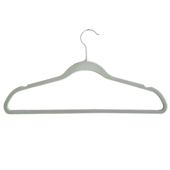 PROMAN Velvet plastic Huggable Suit Hangers (Set of 50) (...