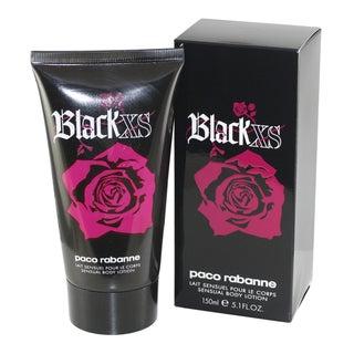 Paco Rabanne Black Xs Women's 5.1 oz. Body Lotion