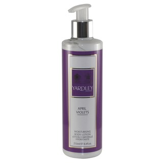 April Violets Women's Yardley Of London Moisturising Body Lotion 8.4oz