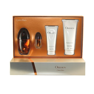 Calvin Klein Obsession Women's 4-piece Gift Set