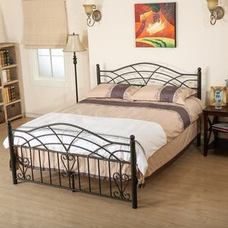 Brassfield Iron Bed Frame by Christopher Knight Home|https://ak1.ostkcdn.com/images/products/10195599/P17320194.jpg?impolicy=medium