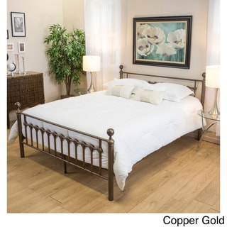 seiman iron bed frame by christopher knight home