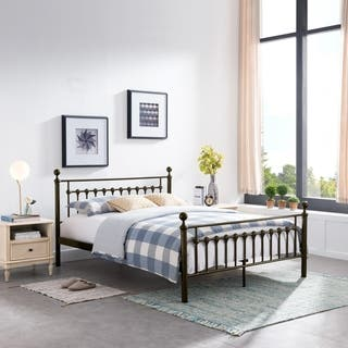 Seiman Iron Bed Frame by Christopher Knight Home|https://ak1.ostkcdn.com/images/products/10195600/P17320195.jpg?impolicy=medium