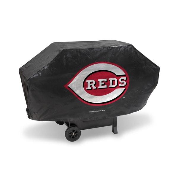 Cincinnati Reds 68-inch Deluxe Grill Cover