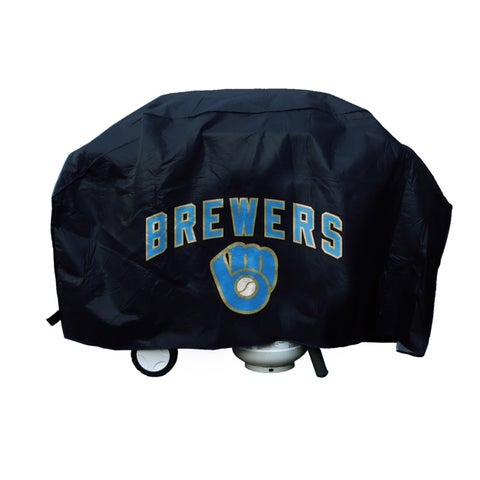 Milwaukee Brewers 68-inch Deluxe Grill Cover
