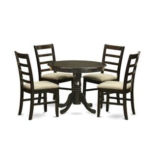 5-Piece Kitchen Table Set and 4 Kitchen Chairs