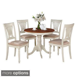 5-Piece Kitchen Table Set And 4 Chairs For Dining Room (2 options available)