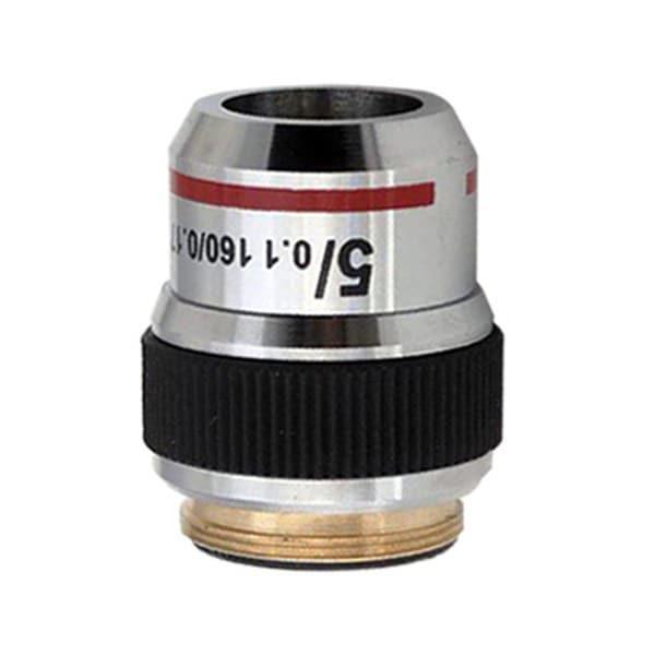 5X Achromatic Microscope Objective