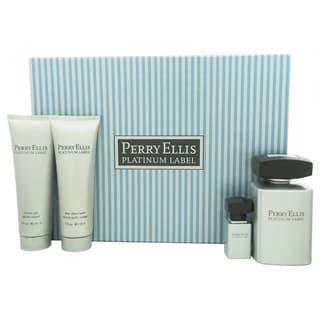 Perry Ellis Platinum Label Men's 4-piece Gift Set