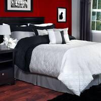 Windsor Home Shades of Gray 7-piece Comforter Set