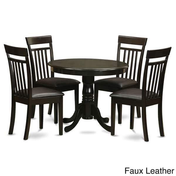 Shop 5 Piece Kitchen Nook Table And 4 Dining Chairs Free