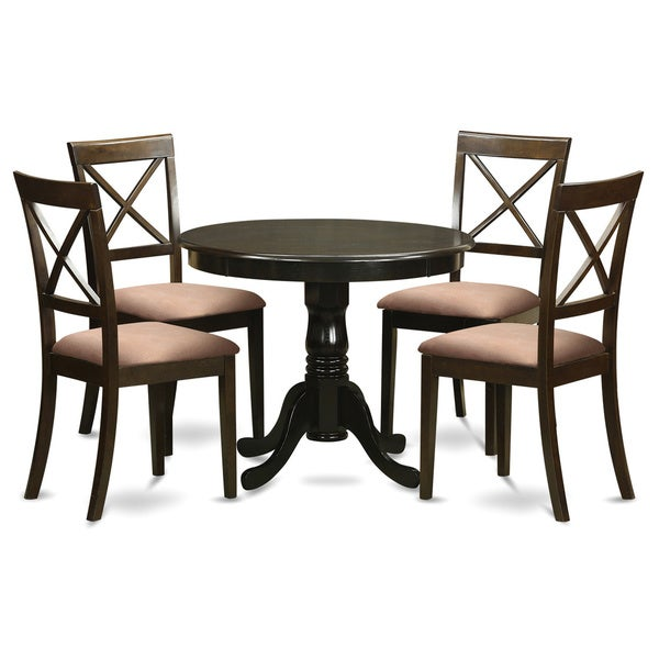 5 Piece Small Kitchen Table and 4 Chairs For Dining Room