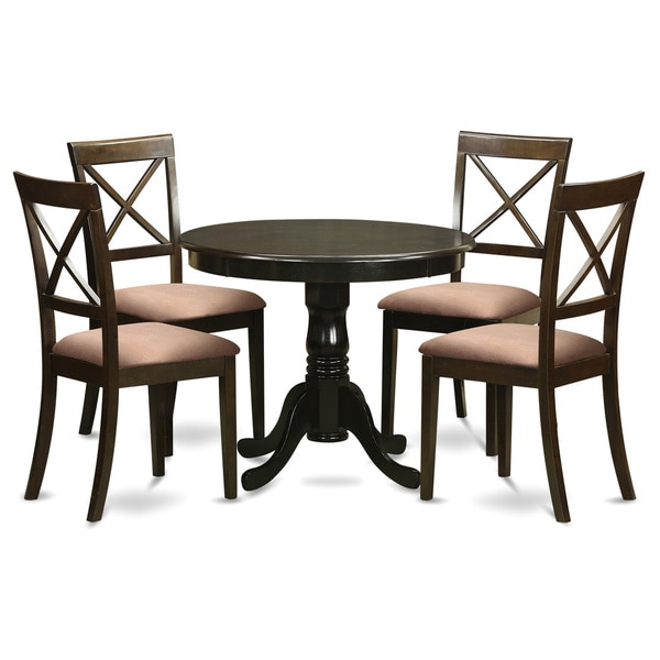4 Chairs In Dining Room: 5-Piece Small Kitchen Table And 4 Chairs For Dining Room