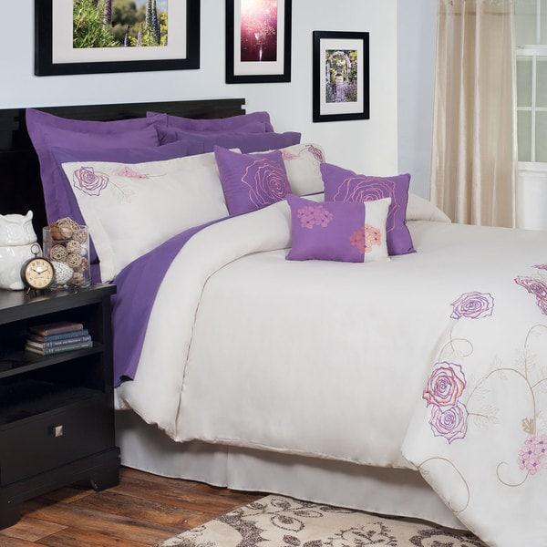 Windsor Home Valentine Embroidered 13-piece Comforter Set