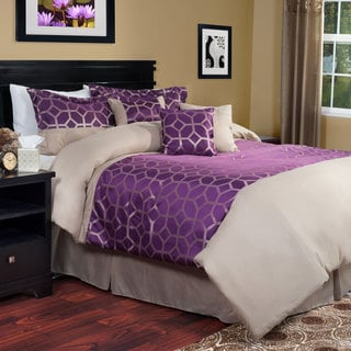 Windsor Home Violet 7-piece Comforter Set