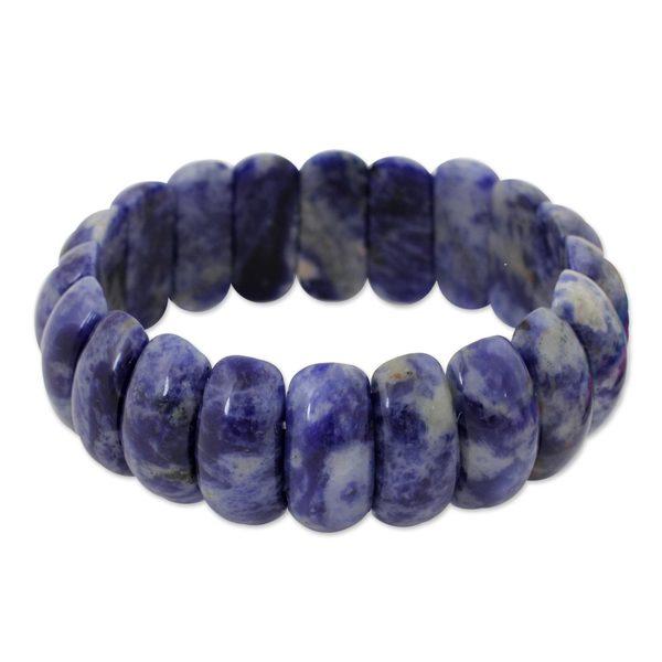e675a3de12 Shop Handmade Sodalite  Just Glow  Bracelet (Thailand) - Free ...