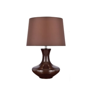 Lite Source Nessia Table Lamp, Coffee