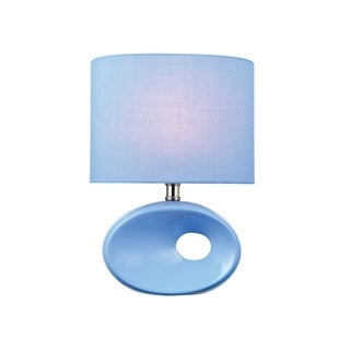 Lite Source Hennessy II Table Lamp,-light Blue