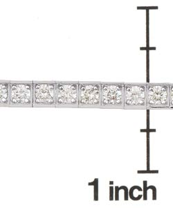14k Gold 5ct Diamond Tennis Bracelet (I-J, SI2 ) - Thumbnail 2