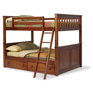 Woodcrest Pine Ridge Full/Full Mission Bunk Bed