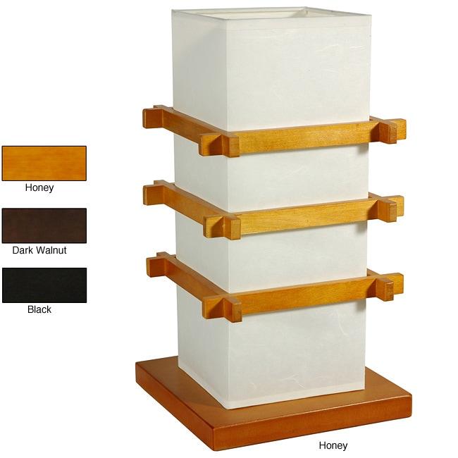 handmade shoji style floor lamp (china) - free shipping today