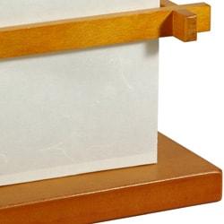 Handmade Shoji Style Floor Lamp (China) - Thumbnail 2
