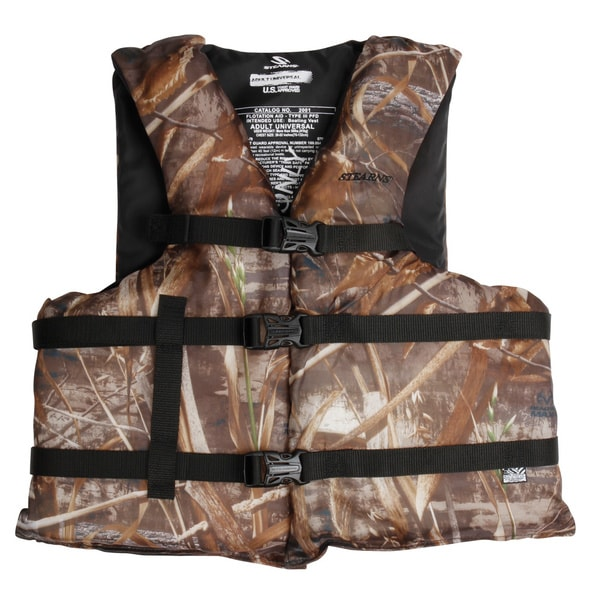 Stearns Adult Boating Max-5 Camo Universal Vest