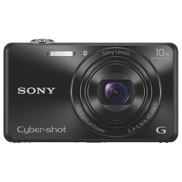 49fd6b5590 Shop Sony Cyber-shot DSC-WX220 18.2 Megapixel Compact Camera - Black ...