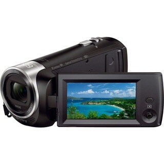 "Sony Handycam CX440 Digital Camcorder - 2.7"" LCD - Exmor R CMOS - Ful - Thumbnail 0"