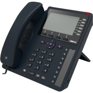 Obihai Gigabit IP Phone with Power Supply - Up to 24 Lines - Built-In WiFi  and Bluetooth - Works with Google Voice and SIP-Base
