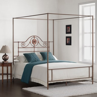 Medallion Copper Queen Bed