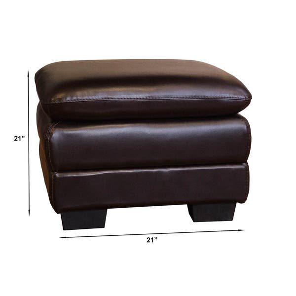 Cool Shop Oversized Chocolate Leather Chair And Ottoman Set Uwap Interior Chair Design Uwaporg