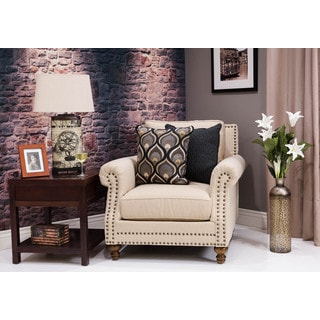 Somette Musca Beige Deep Club Chair