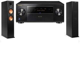 Klipsch RP-250F Tower Speakers-Pioneer Elite SC-85