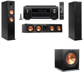 Klipsch RP-250F Tower Speakers-3.1-Denon AVR-X4100W