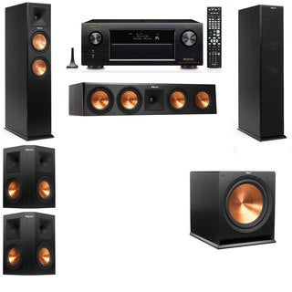 Klipsch RP-250F Tower Speakers-5.1-Denon AVR-X4100W