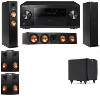 Klipsch RP-250F Tower Speakers-RP-440C-SDS12-5.1-Pioneer Elite SC-85