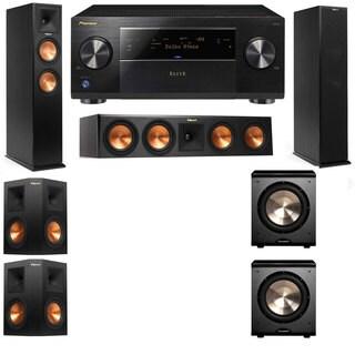 Klipsch RP-250F Tower Speakers-RP-440C-PL-200-5.2-Pioneer Elite SC-85