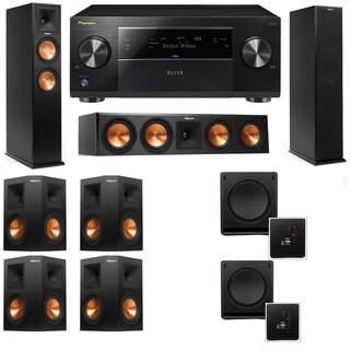 Klipsch RP-250F Tower Speakers-RP-440C-SW-112 - 7.2 - Pioneer Elite SC-85