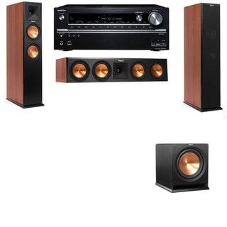 Klipsch RP-250F Tower Speakers CH-R112SW-3.1-Onkyo TX-NR838