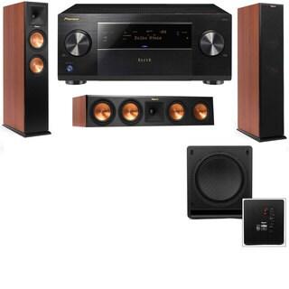 Klipsch RP-250F Tower Speakers CH-RP-440C-SW-112-3.1-Pioneer Elite SC-85
