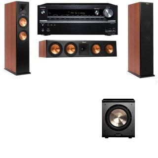 Klipsch RP-250F Tower Speakers CH-PL-200-3.1-Onkyo TX-NR838
