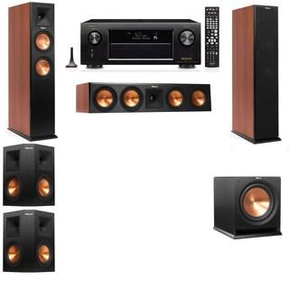 Klipsch RP-250F Tower Speakers CH-R112SW-5.1-Denon AVR-X4100W