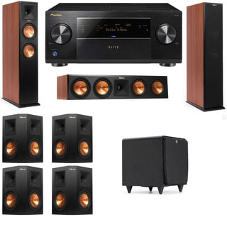 Klipsch RP-250F Tower Speakers CH-RP-440C-SDS12-7.1-Pioneer Elite SC-85