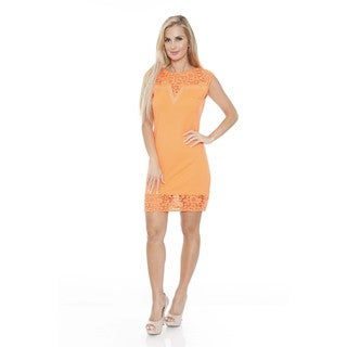 White Mark Women's Charlotte Shift Dress